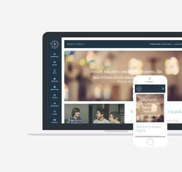 ChristianCMS WordPress Website Theme Eyecon
