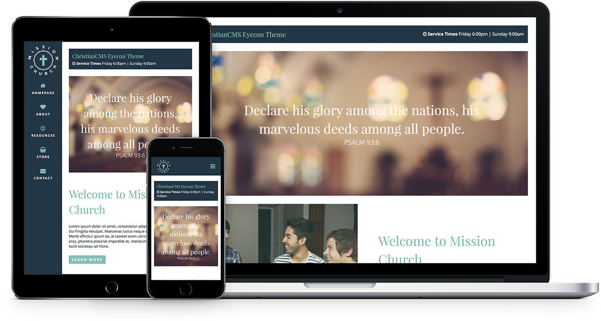 Church & Ministry WordPress Website Design