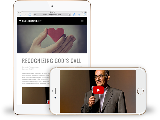Sermon Sharing For Your Church and Ministry Website